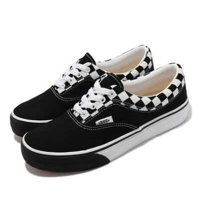 Vans 休閒鞋 V94CF CHK Era 男女鞋 帆布 棋盤格 休閒穿搭 支撐 情侶鞋 黑 白 6113260001