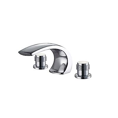 I-Bath YBT207-3扁C浴缸龍頭三件式