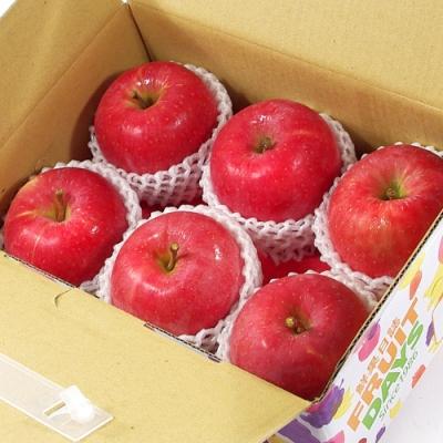 【鮮果日誌】日本空運套袋富士蘋果(6入禮盒)