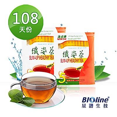 Bioline星譜生技 即期品_沛立康纖姿茶 108天暢快組(108包/箱)