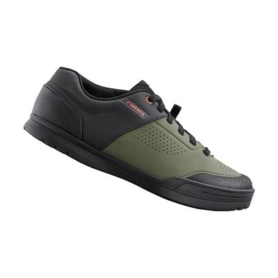 【SHIMANO】AM503 男款多功能登山車鞋 加大旅行鞋楦 橄欖色