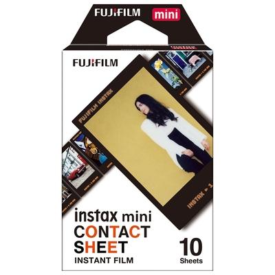 2盒裝 FUJIFILM instax mini 拍立得底片 懷舊底片風 CONTACT SHEET