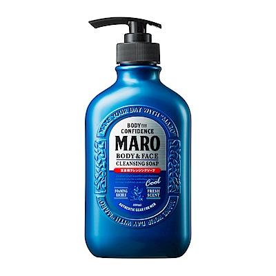 MARO終極秒感 全效沐浴乳-酷涼