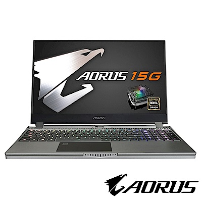 技嘉 AORUS 15G KB 15吋機械軸電競筆電(i7-10750H/RTX20