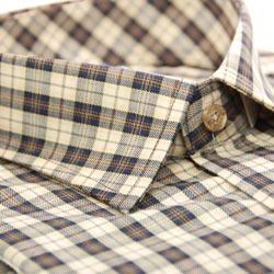 【金安德森】經典中格限量窄版長袖襯衫