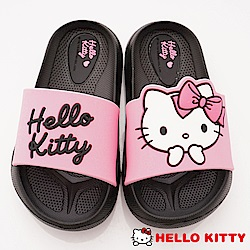 HelloKitty童鞋 輕量拖鞋款 EI18192黑(中小童段)