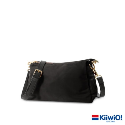 Kiiwi O! 輕量尼龍實用三層兩用包 KIANA 黑