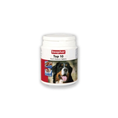 Beaphar樂透-TOP-10犬用超級鈣錠(180錠)