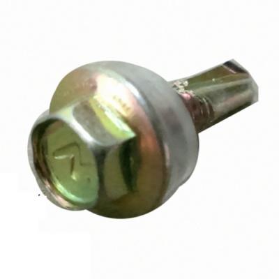 Q8 六角頭自攻牙螺絲/鑽尾螺絲 12#x 3/4 六分 鍍鋅(100支/包)