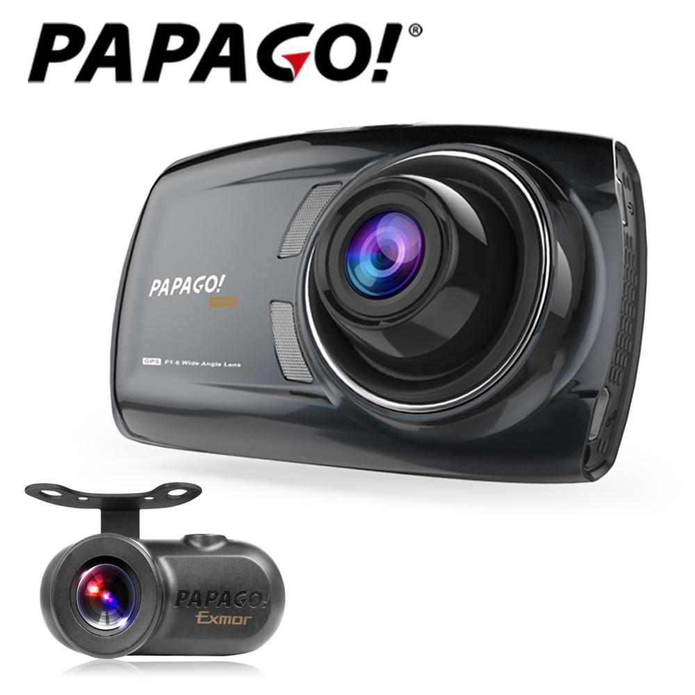 PAPAGO!GoSafe S70G + S1雙鏡頭SONY Sensor 行車記錄器