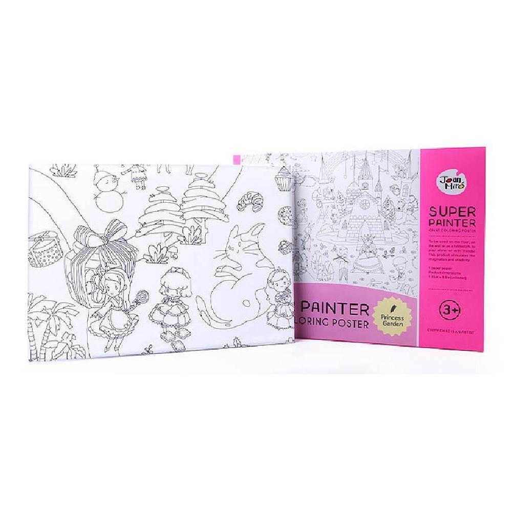 【西班牙 JoanMiro 原創美玩】超級大畫家-公主花園