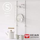 日本【平安伸銅 】SPLUCE廚衛收納籃層架(S)組合SPL-3 (超薄窄版)