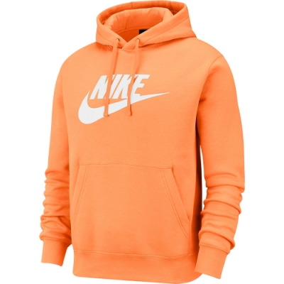 NIKE 上衣 連帽上衣 運動 慢跑 健身 男款 橘 BV2974837 AS M NSW CLUB HOODIE PO BB GX