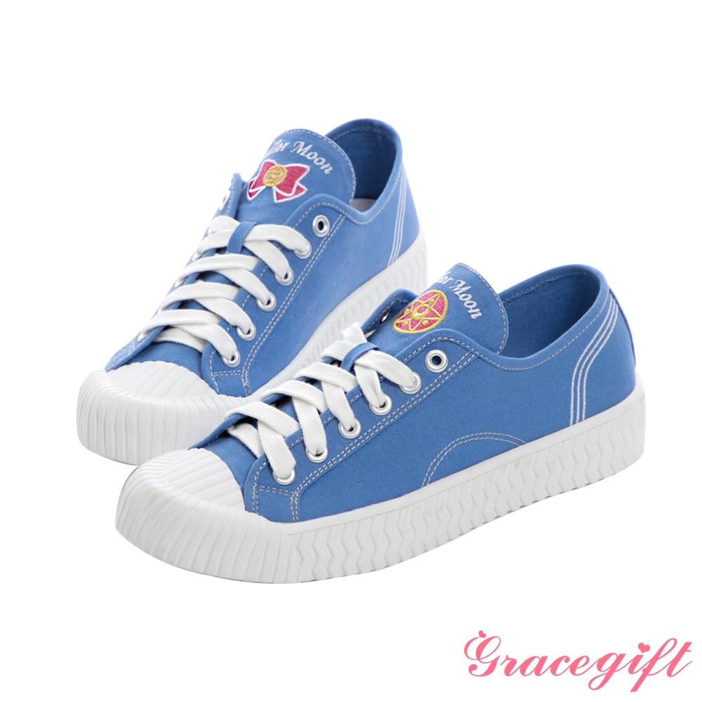Grace gift-美少女戰士小兔帆布餅乾鞋 深藍