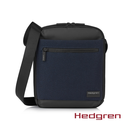 Hedgren NEXT RFID雙層商務 側背包 深藍灰