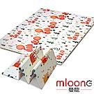 Mloong曼龍 XPE環保雙面折疊地墊-大象松鼠 (爬行墊/摺疊墊/遊戲墊)