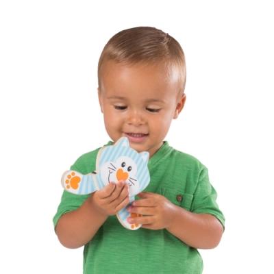 美國瑪莉莎 Melissa & Doug 幼兒啟蒙 - 小手扭轉樂 , 動物躲貓貓
