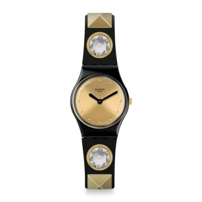 Swatch Knightliness 系列手錶 ORTRUD 黑魔女 -25mm