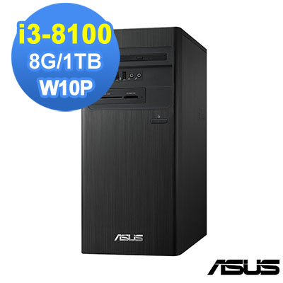 ASUS M640MB 8代i3 Win10 Pro 商用電腦