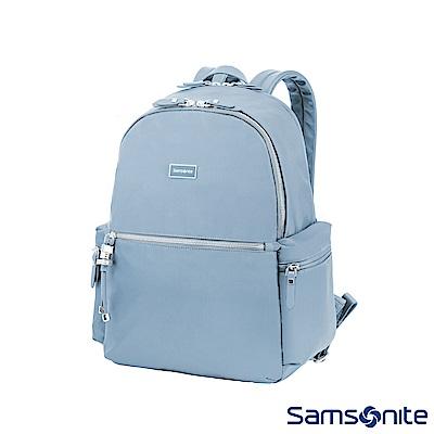 Samsonite新秀麗 Karissa輕量後背包15.6吋(粉藍)