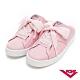 【PONY】TOP STAR皮革時尚休閒懶人穆勒鞋 小白鞋 拖鞋 涼鞋 粉色 product thumbnail 1