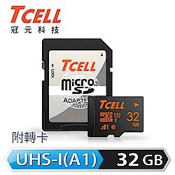 TCELL冠元 MicroSDHC UHS-I(A1) U3 32GB 100/50MB