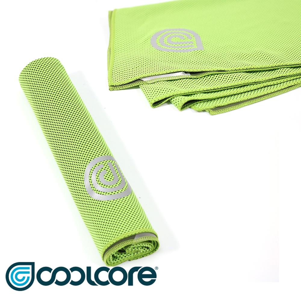 COOLCORE Chill Sport 涼感運動巾 萊姆綠(涼感,降溫,運動)