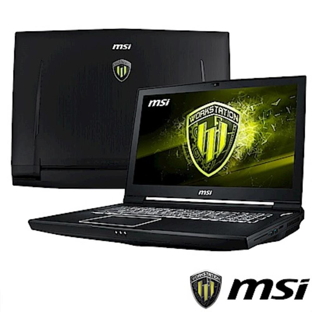 MSI微星 WT75-015 17吋繪圖筆電(i7-8700/P4200/512G+1T