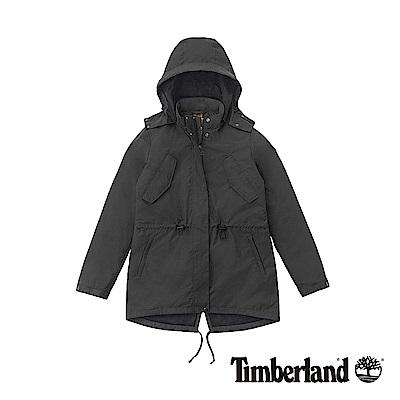 Timberland 女款黑色防水三合一羽絨外套|B 2117