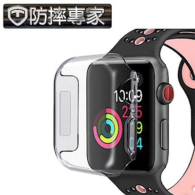 防摔專家 Apple Watch 完美包覆 輕薄透明保護殼-44mm