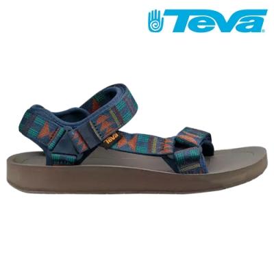 TEVA Original Universal Premier 經典織帶涼鞋 男 圖騰海軍藍 TV1015192BBNY