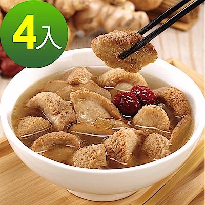 京紅 麻油猴頭菇-4包組