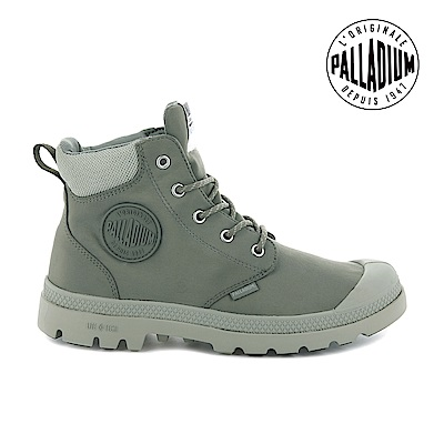 PALLADIUM Pampa Lite+ Cuff WP輕量防水靴-中性-亞麻綠
