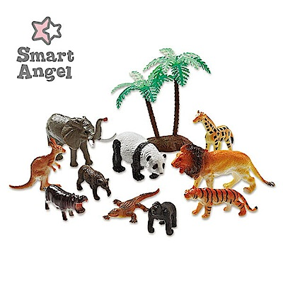 西松屋 Smart Angel  森林王國-造型模型玩具/公仔
