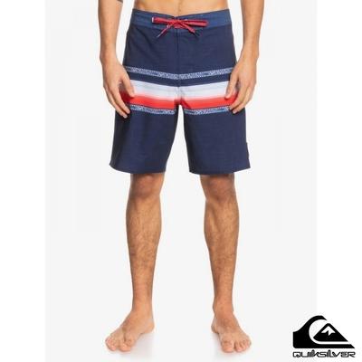 【QUIKSILVER】SURFSILK SUN FADED 19 衝浪褲 海軍藍