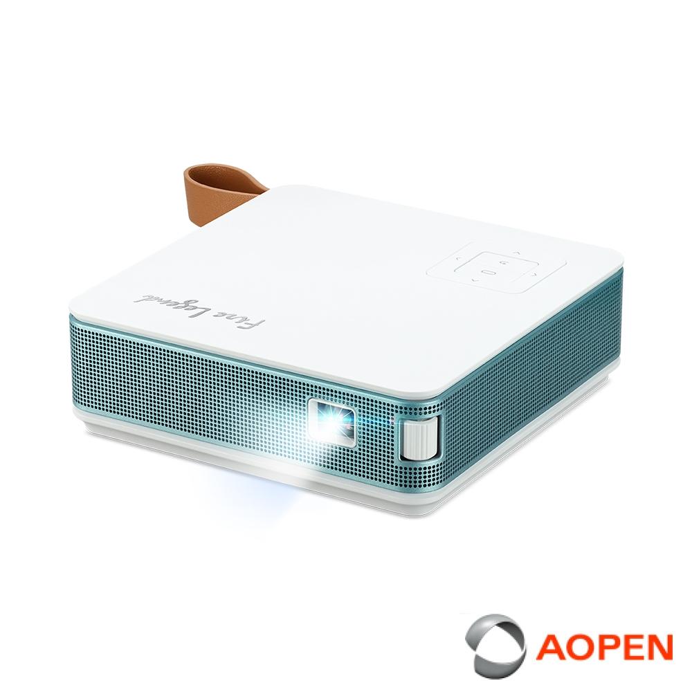 AOPEN PV12 翻轉微型投影機 湖水綠( LED 700流明)
