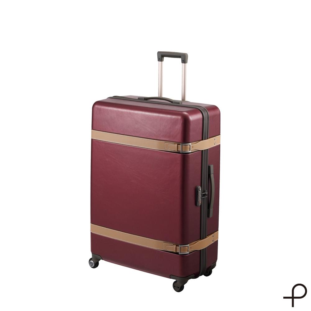 【日本製造PROTECA】雅緻-30吋經典復古行李箱(古典酒紅)
