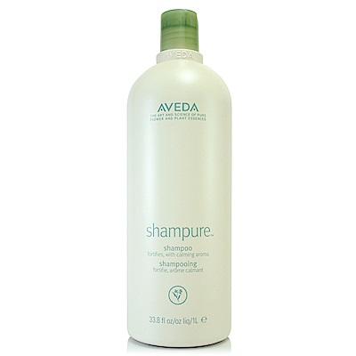 AVEDA 純香洗髮菁1000ml+專櫃體驗試用包*1