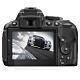 【二入組】Kamera 高透光保護貼 for Nikon D5300 product thumbnail 1