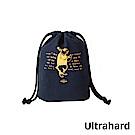 Ultrahard 藏書票束口袋- 愛麗絲(藍)