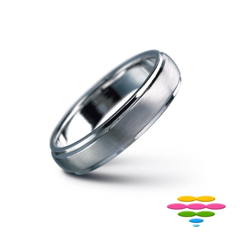 彩糖鑽工坊 K金戒(4mm) 幸褔指輪系列 product image 1