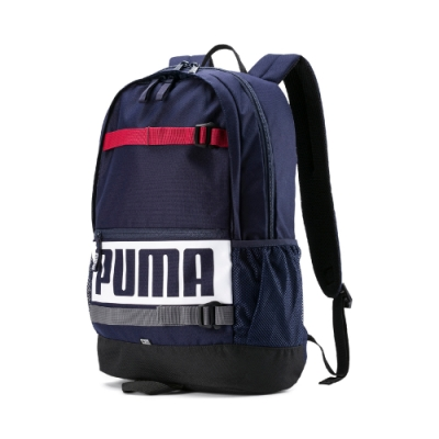 PUMA-男女PUMA Deck後背包-重深藍