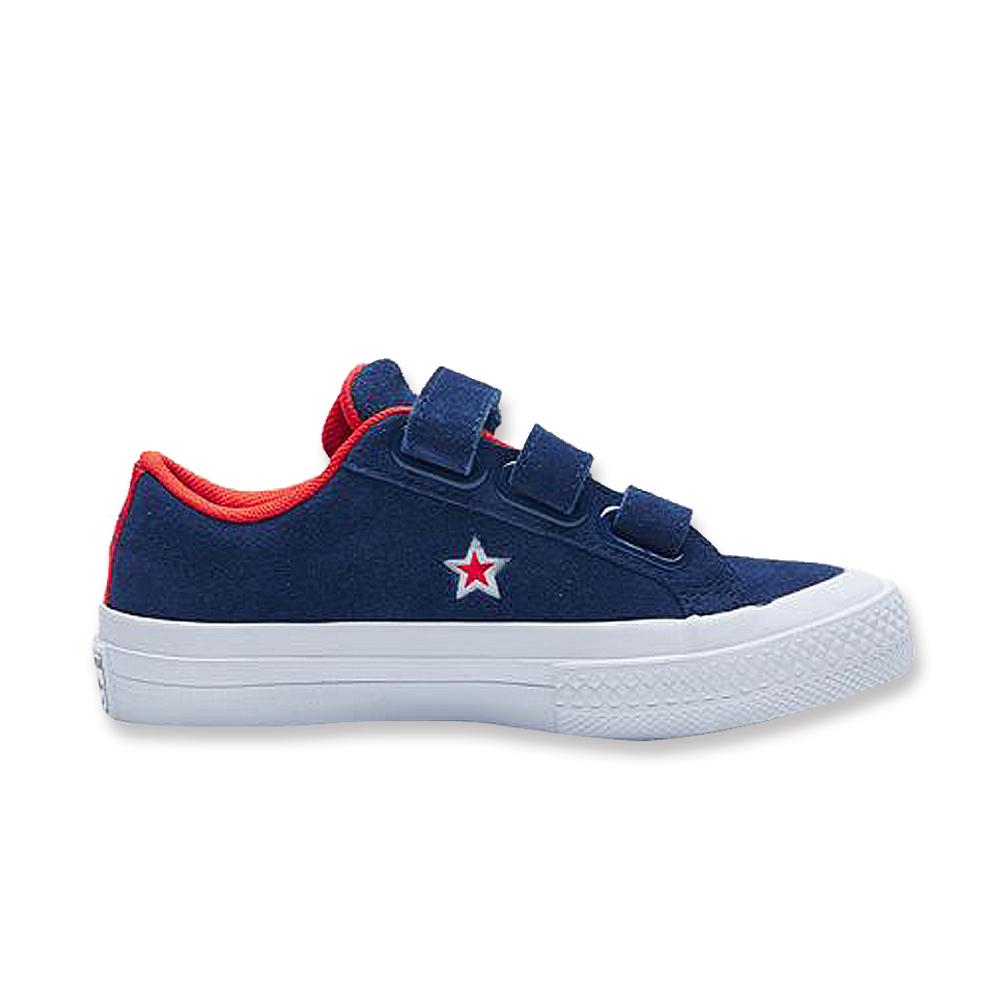 Converse 中大童休閒鞋-660009C 藍
