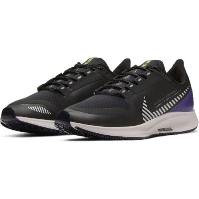 NIKE 運動鞋 訓練 健身 氣墊 防潑水 女鞋黑紫 AQ8006002 W AIR ZOOM PEGASUS 36 SHIELD