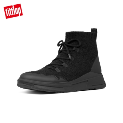 FitFlop COMFFKNIT SOCK BOOTS 襪套式短靴 靚黑色