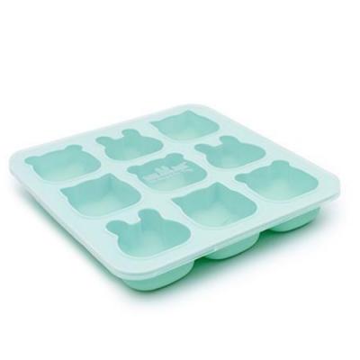 澳洲We Might Be Tiny 動物矽膠製冰烘焙模具-薄荷綠