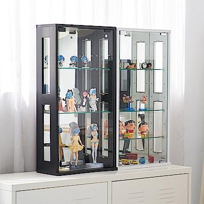 [時時樂限定]凱堡 模型櫃  收納櫃 80cm 公仔展示櫃 40x20x80
