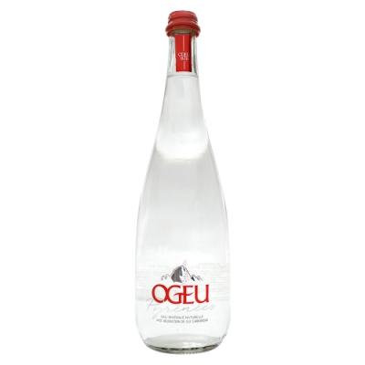 OGEU  氣泡礦泉水750ml(玻璃瓶)