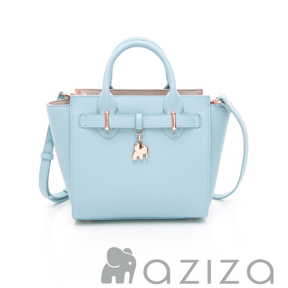 aziza CLORIS2way蝙蝠包-水藍