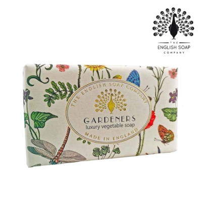 The English Soap Company 乳木果油復古香氛皂-去角質園丁 Vintage Gardeners 190g